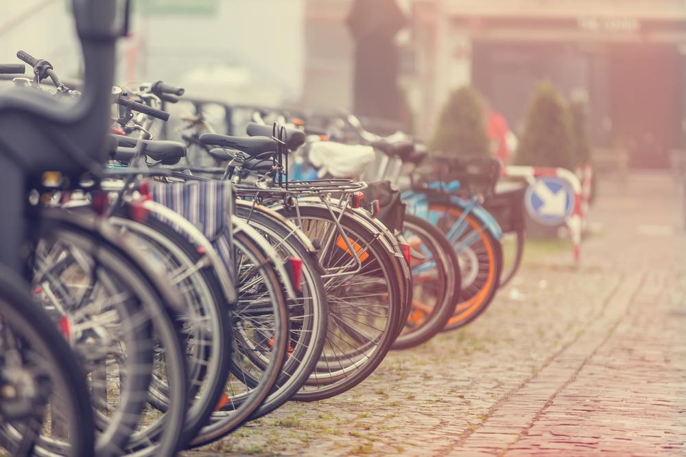 Exemplo de bicicletário