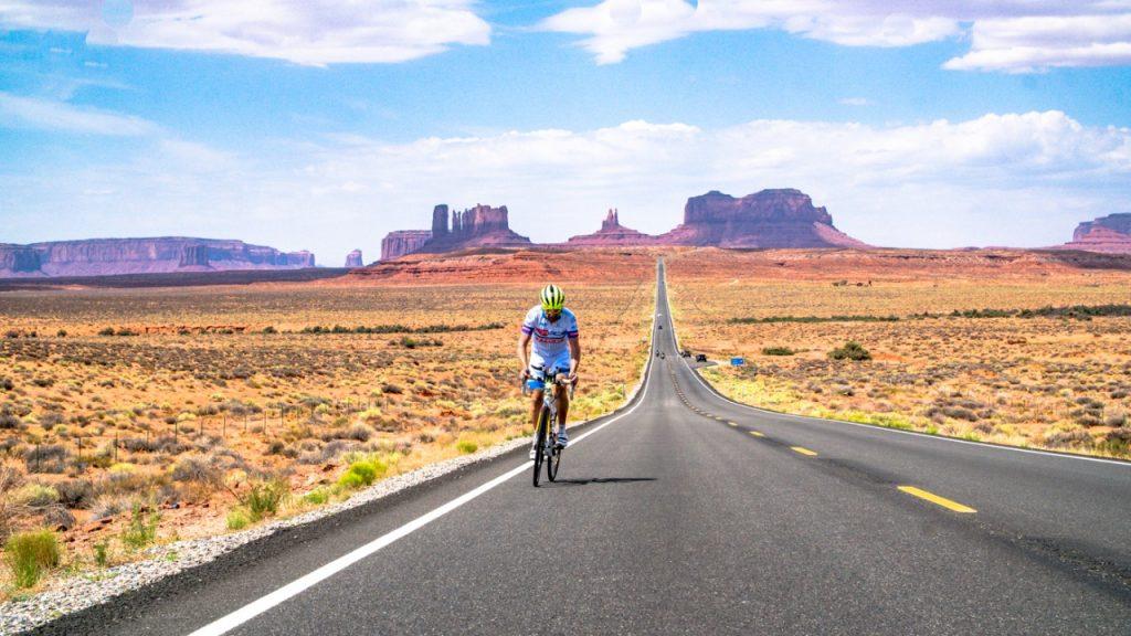 Ricardo Arap, especialista em ciclismo de longas distâncias