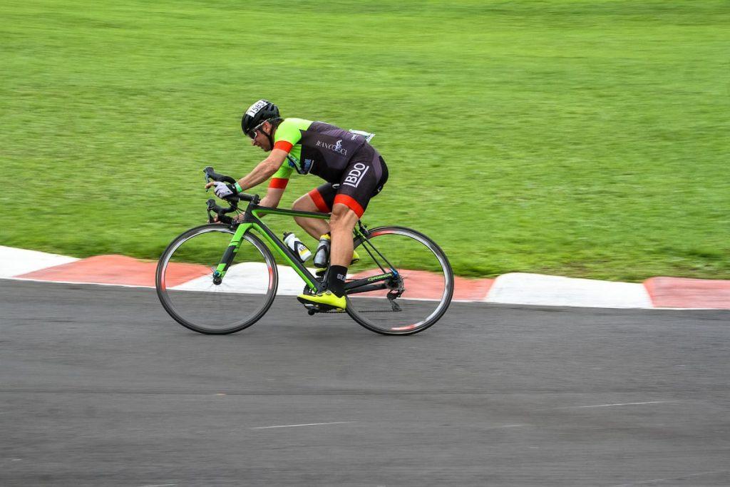 O ciclista Jean Coloca.