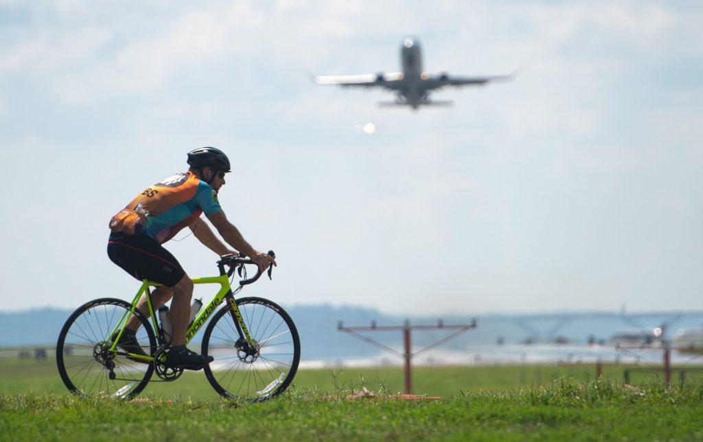 Viajar com a bicicleta no avião