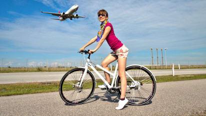 Viajar de avião com a bicicleta