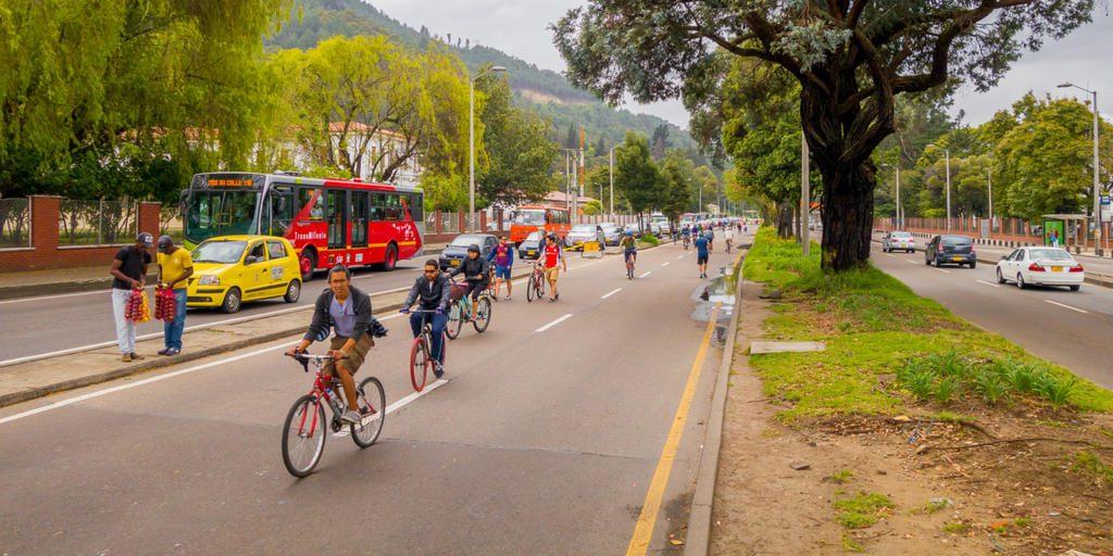 Bogotá é uma das sugestões de cidade para visitar de bike