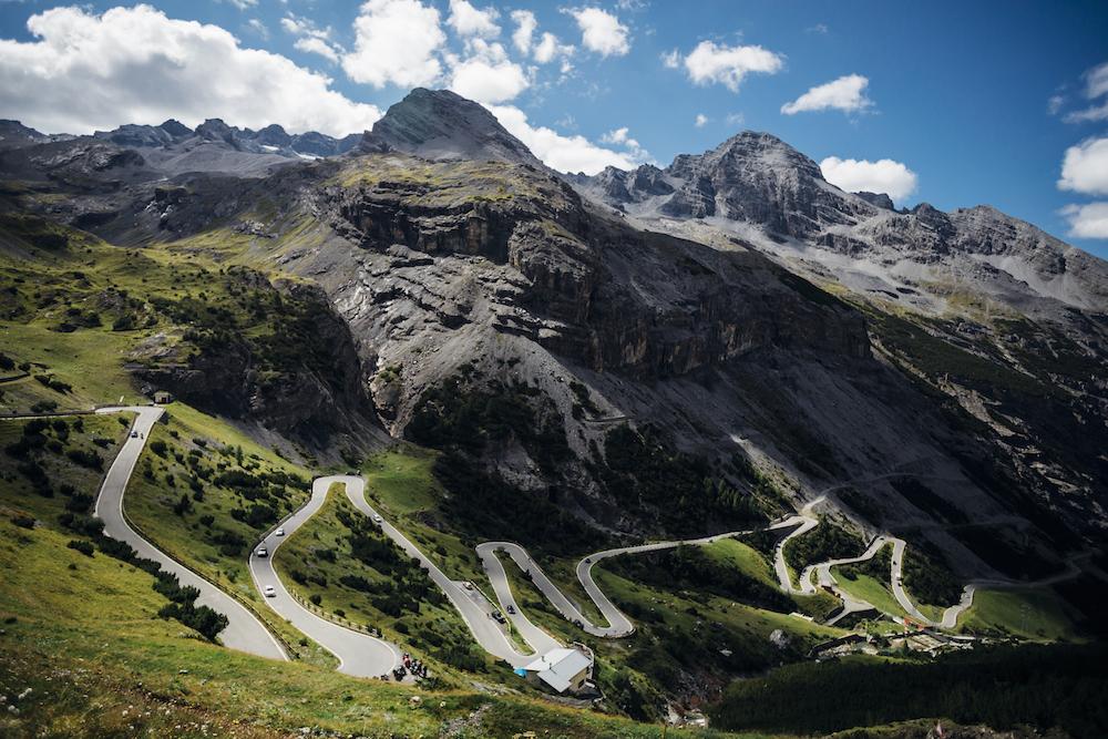 O Passo di Stevio, um dos destinos dos sonhos para pedalar