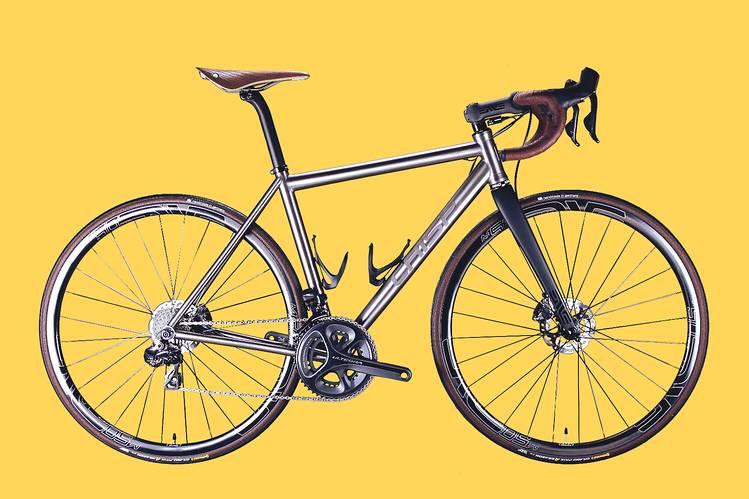 O titânio é um dos melhores materiais para bicicletas