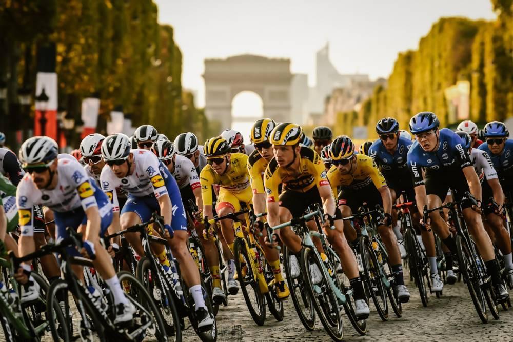 cor das jerseys no Tour de France